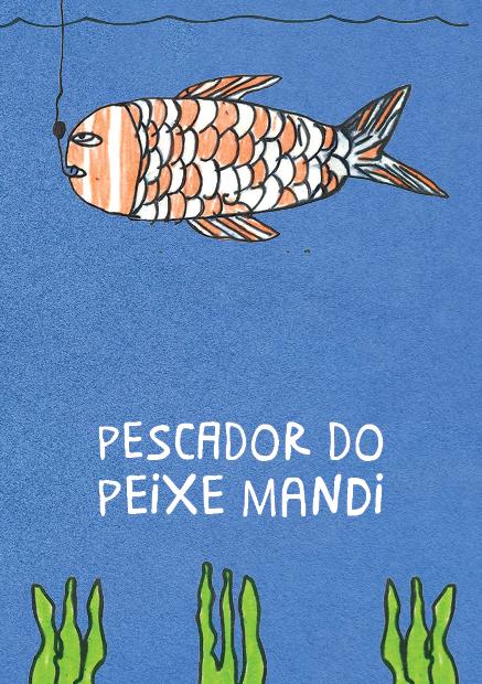 pescador do peixe mandi